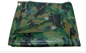 Camouflage PE Tarpaulin Tarps for Truck Cover pictures & photos