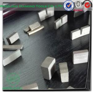 Wanlong Diamond Segment for Marble Slab Cutting -Diamond Cutting Saw Blade Segment pictures & photos