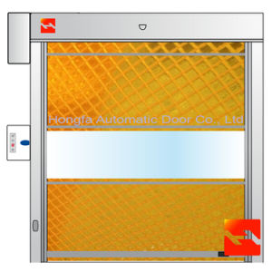 Automatic Industrial PVC High Speed Roller Shutter Door (HF-45) pictures & photos