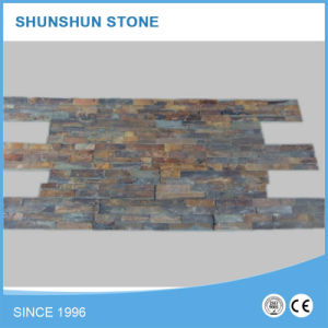 Nature Slate Wall Stone Decoration with Low Price pictures & photos