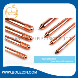 China Customized Copper Bonded Earth Rod pictures & photos