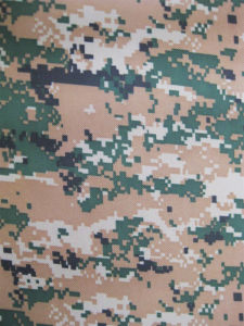 Fy-DC01 600d Oxford Digital Camouflage Printing Polyester Fabric pictures & photos