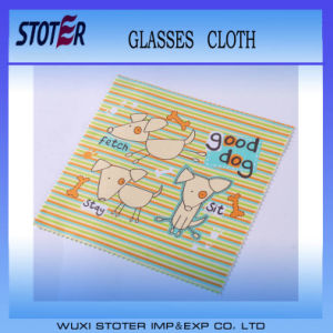 Microfiber Eye Glasses Cleaner Cleaning Cloth pictures & photos