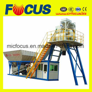 Low Price 60m3/H Mobile Cement Batching Plant pictures & photos