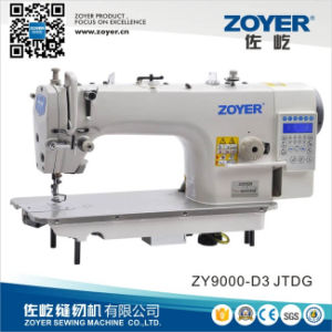 Zoyer Steel Lockstitch Industrial Sewing Machine with Auto-Trimmer (ZY9000D-D3G) pictures & photos