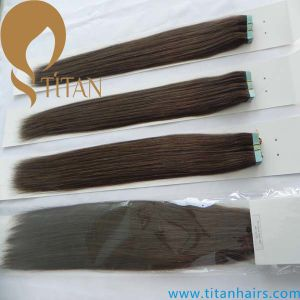 Virgin Remy Brazilian Human Hair Tape Hair Extension pictures & photos