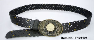 Hollow out Belt with Oval Buckle pictures & photos
