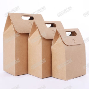 Kraft Paper Shopping Bag/ Gift Carrier Bag pictures & photos