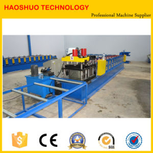 Metal Roof Ridge Cap Roll Forming Machine pictures & photos