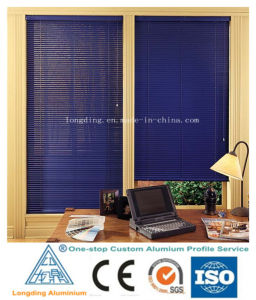 Blue Roller Shutter Fabrics with Approved Test and Inspection pictures & photos