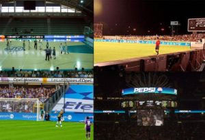 New Designing P16 Football LED Stadium Screen / Perimetier Display Screen in China pictures & photos