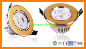 240V Warm White 10W Round Panel LED Downlight pictures & photos