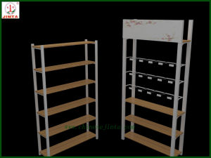 Wooden Display Stand with Steel Structure (JT-A30) pictures & photos