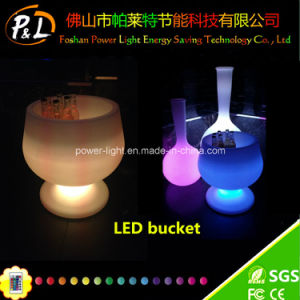 Fashion Wireless Nightclub Beer Wine LED Ice Bucket pictures & photos