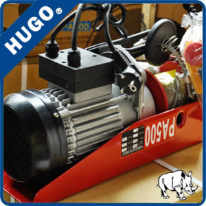 Single Phase Mini Wire Rope Electric Hoists PA200~1200 pictures & photos