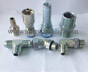 Male Jic Rubber Tube Fittings (steel) pictures & photos