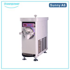 Mini Soft Ice Cream Machine (Oceanpower Sunny A6) pictures & photos