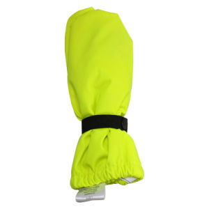 Flourescent Yellow PU Rain Mitten for Baby/Child pictures & photos