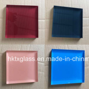 High Quality Silkscreen Printing Glass with En12150 Certificate pictures & photos