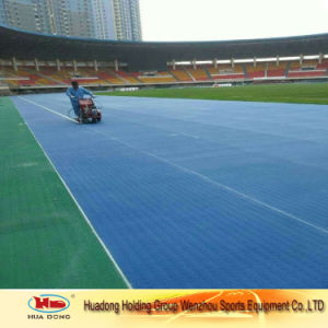 Rubber Vulcanizing Material Running Track Roll pictures & photos