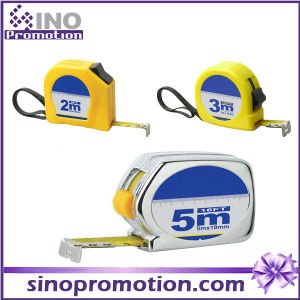 Wholesale Custom Mini Retractable Plastic Case 5m 3m Tape Measure pictures & photos