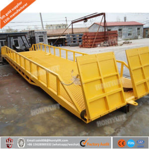 China Adjustable Mobile Hydraulic Dock Loading Ramp pictures & photos