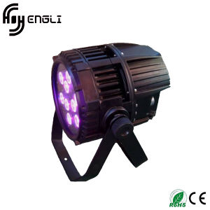 IP65 9PCS 4in1/5in1/6in1 Waterproof LED PAR Light for Outdoor Stage pictures & photos