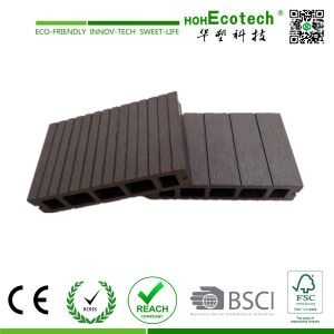 Wood-Plastic Composite Flooring Technics and Engineered Flooring Type Outdoor WPC Decking System pictures & photos