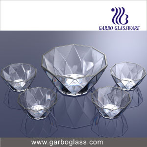5PCS Glass Fruit Bowl Tz5-GB16040 pictures & photos