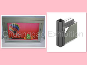 Tension Fabric Maxima Square Extrsuion Frame Light Box (KD80-2) pictures & photos