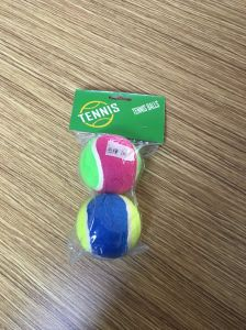 2PCS Plastic Bag Color Tennis Ball pictures & photos