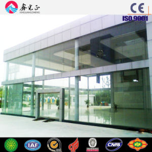 Steel Structure Car Garage with Glass Curtain Wall (SSW-454) pictures & photos