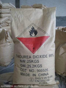 Thiourea Dioxide 99%, Tdo, Used as Reductant, Bleaching, Decoloring, Plastic Stabilizers, Photographic, Printing and Dyeing pictures & photos