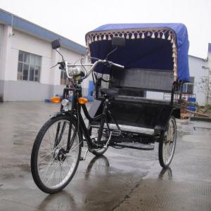 Cheap Fashion Indian Electric Tricycle Passenger Rickshaw 500W-800W (HDR500-3)