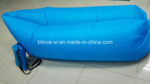 Five Stars Light Weight Inflates in 10 Seconds 210t Polyester Hangout Inflatable Couch pictures & photos