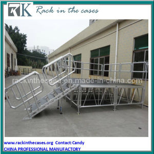 Rk High Adjustable Mobile Aluminium Stage for Performance pictures & photos