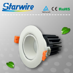 Cl09-D01 High Lumen Dimmable 9W COB LED Downlight pictures & photos