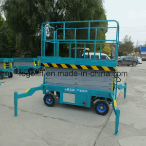 8m 500kg Mobile Scissor Lift/Hydraulic Lift/Hydraulic Ladder Lift pictures & photos