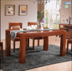Modern Solid Ash Dining Room Table and Chairs