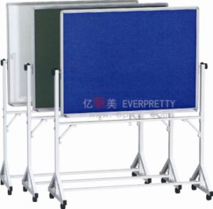 Wholesale Cheap Free Standing Movable School White Board with Metal Rack and Wheels Gt-78 pictures & photos