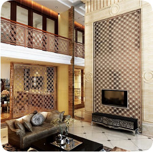 Interior Decorative Metal Stainless Steel Room Divider Partition pictures & photos