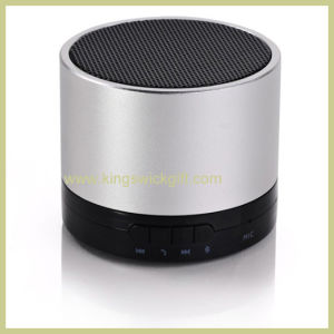 Round Mini Bluetooth Speaker Box with Mic Function