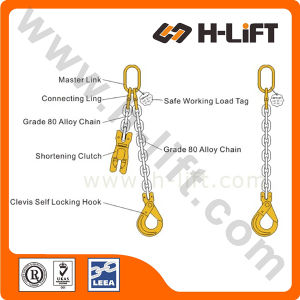G80 Single Leg Chain Sling / Alloy Chain Lifting Sling pictures & photos