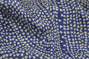 Dyeing Printed Georgette Silk Fabric