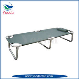 Aluminum Alloy and PVC Folding Camping Bed pictures & photos