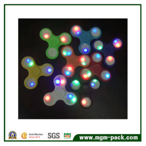 Newly Developed LED Plastic Fidget Spinner pictures & photos