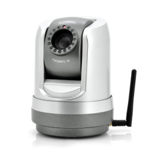 Wireless PTZ IP Security Camera - 1/4 Inch CCD Sensor, 27X Optical Zoom, Night Vision, 420tvl