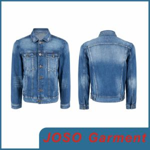 Cowboy Jean Denim Jackets (JC7011) pictures & photos