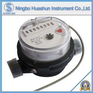 Single Jet Dry Type Plastic Body Water Meter with Pulse Output Function pictures & photos