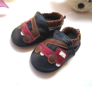 Leather Baby Shoes pictures & photos